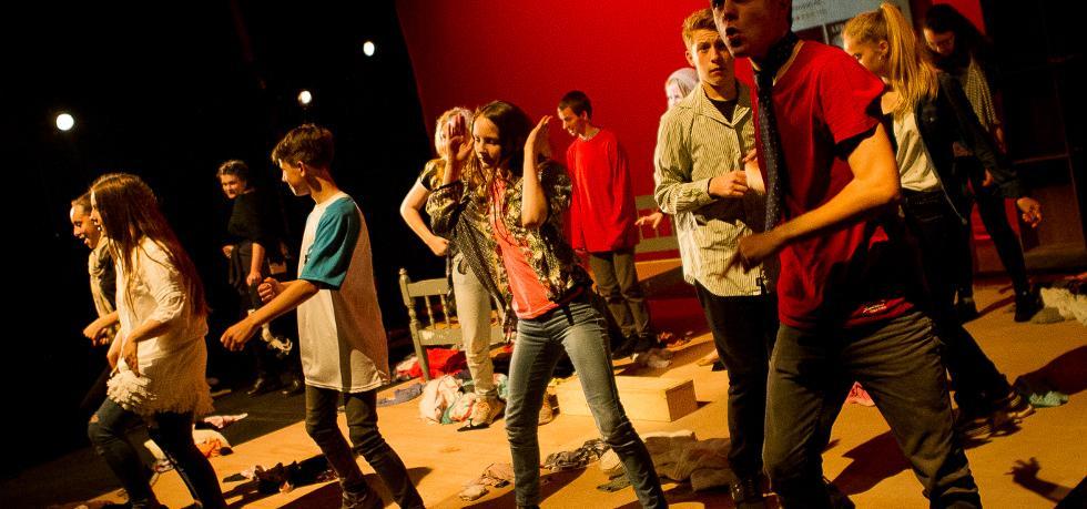Youth Theatre, Nuffield Southampton Theatres © Richard Budd